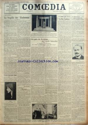 COMOEDIA [No 4963] du 30/07/1926 - L'AGE DE L&...