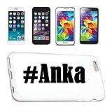 Handyhülle iPhone 7+ Plus Hashtag ... #Anka ... im Social Network Design Hardcase Schutzhülle Handycover Smart Cover für Apple iPhone … in Weiß … Schlank und schön, das ist unser HardCase. Das Case wird mit einem Klick auf deinem Smartphone befestigt