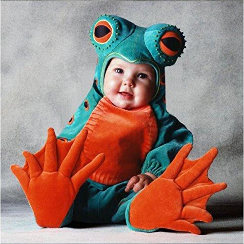 Tom Kostüm Arma Baby - Frosch-Kostüm Tom Arma-Baby
