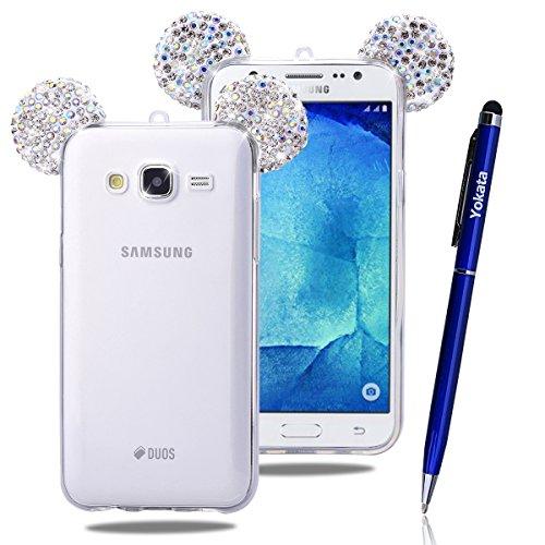 Custodia Per Samsung Galaxy J5 / 2015, Yokata Bumper Gel