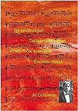 Taktierübungen / Takteeroefeningen / Rhythmical exercises / Esercizi ritmici