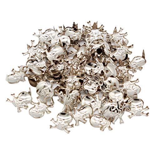 Baoblaze 150 Pedazos Metal Remaches Garra Tachonadas Botón...