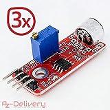 AZDelivery Mini PCM2704 - Scheda audio + Mp3 + microfono per Arduino KY-037 Mikrofon