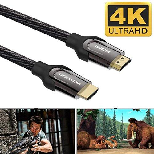 HDMI-Kabel ,COLORFUL Qualität HDMI Kabel V2.0 4K @ 60Hz 3D 1080P- HDTV LCD LED für PS4 E ,0.75m/1m/1.5m/2m/3m/5m/8m/10m/15m (0.75m) -