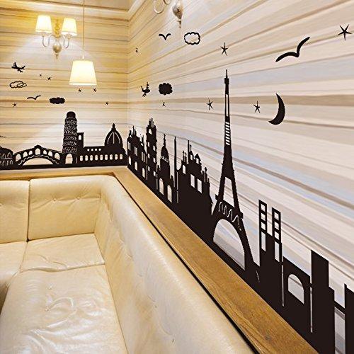 HAIAINI 3d Wall stickers autoadesiva in camera da letto soggiorno parete decorazione creative adesivi per parete