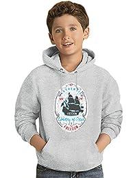 Liberty of ocean Los niños Hoodie ligero Lightweight Hoodie For Kids | 80% Cotton-20%Polyester|
