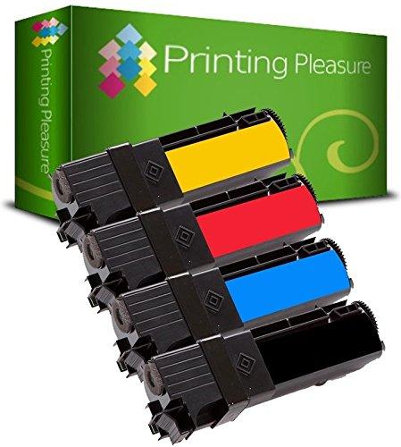 Xerox 106r01280 Laser Patrone (4 Toner kompatibel für Xerox Phaser 6130 N | 106R01281 106R01278 106R01279 106R01280)