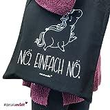 Einhorn-Baumwoll-Tasche Nö. einfach...