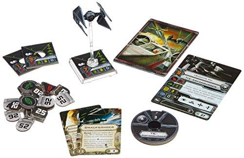 Fantasy Flight 71254 - Star Wars, X Wing TIE-Abfangjäger Erweiterungspack (Star Wars-flotte)