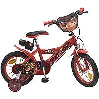 """Toimsa 1691 - Vélo pour Fille - Ladybug - 16"""" de 5 à 8 ans"""