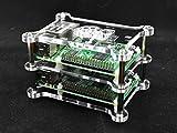 1x Zwischenplatte für Raspberry Pi 3, Raspberry Pi 2, Raspberry Pi B+, A+, Vullers Tech Case G-RP-BPC