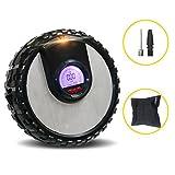 Q&F Auto-luftpumpe elektrischer Kompressor luftpumpe,Preset-digitale reifendruck luftpumpe 12v Dc Für autos fahrräder motorräder-A