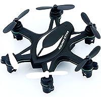 Hanbaili Mini Real 6 Drone Flying Toy para niños, 3D Tumbling y Cool Cast Fly, Micro Quadcopter con modo sin cabeza diseñado para niños