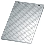 KABUCO Flipchart-Papier, Papiersorte Papier ECF, Maße HxB 100 x 70 cm
