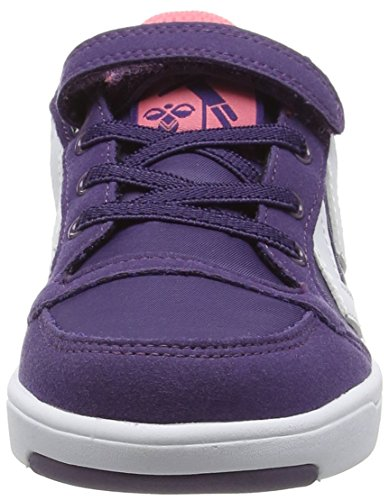 Hummel - Stadil Jr Lo, Scarpe da ginnastica Unisex – Bambini Viola (Violett (Cadet 4103))