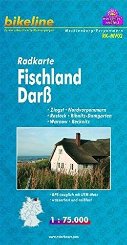 Fischland/Darss/Vorpommern Cycle Map 2011 por Esterbauer
