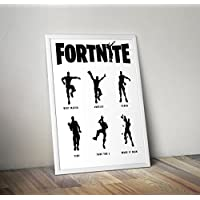 Fortnite inspired Poster - Battle Royale Print - Alternative Gamer/Gaming Prints in Various Sizes(Frame Not Included)