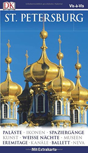 Vis-à-Vis Reiseführer Sankt Petersburg: mit Extrakarte und Mini-Kochbuch zum Herausnehmen