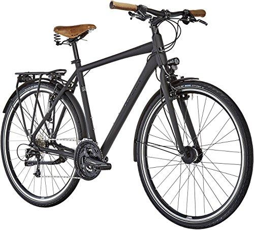 ORTLER Meran Herren schwarz matt Rahmenhöhe 50cm 2019 Trekkingrad