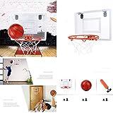 Bibao Mini Hoop Fanatischer Mini-Basketballbrett-Set, bruchfeste Rückwand, Lernspielzeug