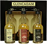 GLENCADAM Highland Single Malt Whisky Triple Pack 3 x 0,05 Liter