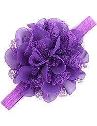 Bandeau cheveux bébé/fille, violet