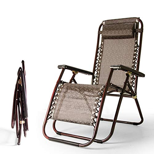 TX BüRo Mittagessen Bett/Nap Strandkorb / 25 Runde Rohr Klappstuhl/Multifunktions Lehnstuhl/Begleitenden Stuhl
