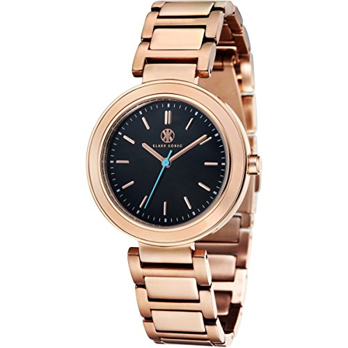 Klaus Kobec KK-10002-01 Ladies Daisy Rose Gold Plated Watch