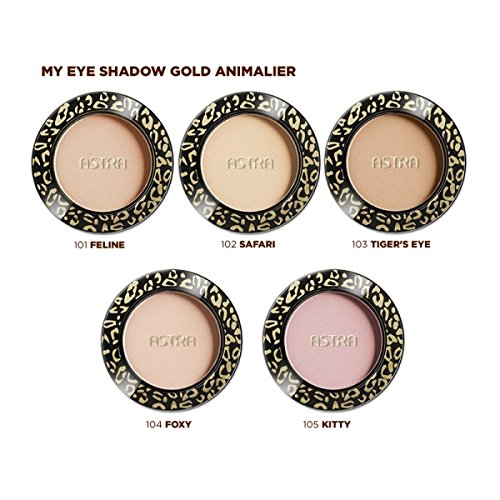 ASTRA OMBRETTO my eye eyeshadow Gold Animalier Tiger's Eye n.103