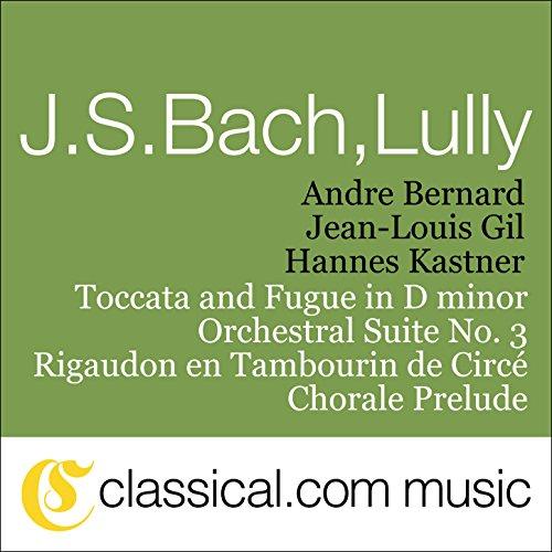 Johann Sebastian Bach, Toccata...