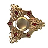 Hand Spinner Fidget, Oyedens Stress Relief Toy alliage Spinner main Fidget Toy Réducteur de stress Made Focus Anxiety Renard Toys for Killing Time (Doré G)
