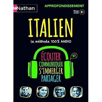 Italien - Coffret Approfondissement 100% audio