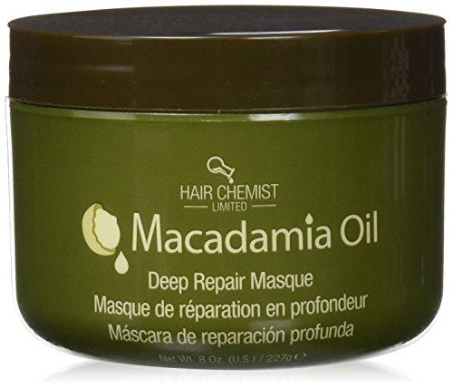 Hair Chemist Macadamia Oil Deep Repair Masque 240 ml Jar by Hair Chemist