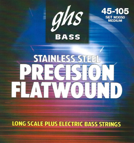 GHS STAINLESS STEEL PRECISION FLATWOUND M3050 45 105