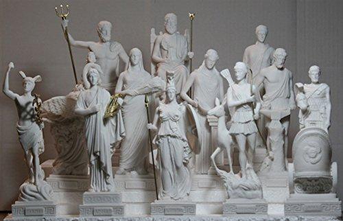 Juego 12Doce Griego Romano Dioses olímpico Panteón