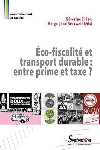 co-fiscalit et transport durable: entre prime et taxe?