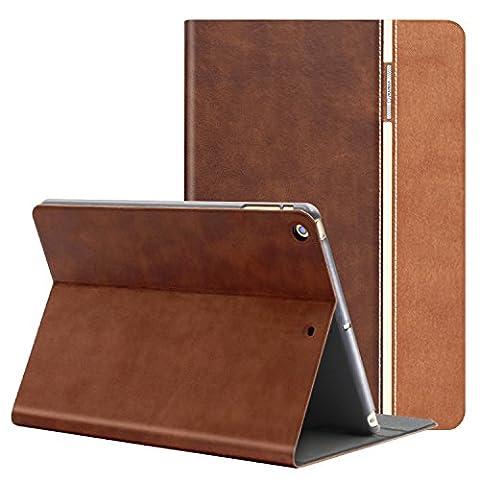 AUAUA iPad Mini Hülle, iPad Mini 1/2/3 Hülle Leder Tasche Schutzhülle mit Auto aufwachen / Schlaf Funktion + Clear Schutzfolie (Gift) für Apple iPad Mini 3/2/1 Hülle Zoll Apple (Apple Tablet Ipad Mini)