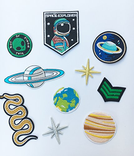 patch-aufnaher-astronaut-und-planeten-10-stuck-set