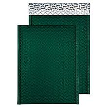 Blake Purely Packaging 324 x 230 mm Pochettes Enveloppes à Bulles Rembourrée Mat Métallique (MTBRG324) Vert de Course Britannique - Boîte de 100