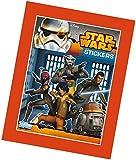 Topps TO00605 - Star Wars Rebels Sammelsticker, 50 Booster mit je 5 Karten im Display