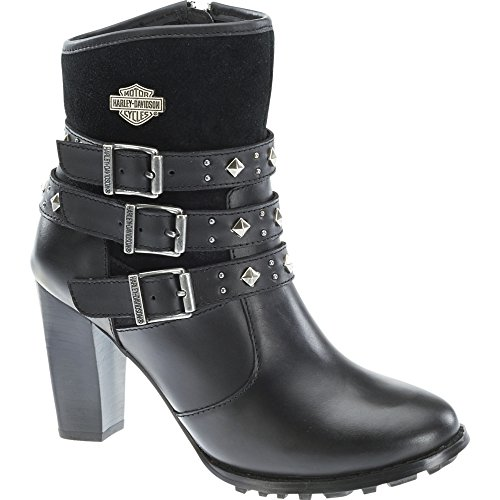 Harley Davidson Women Abbey black Schwarz (Black)