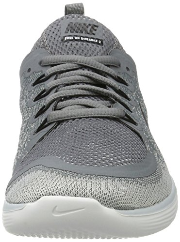 Nike Women's Free RN Distance 2 Running, Scarpe Sportive Indoor Donna Grigio (Gris Froid/gris Loup/discret/noir)