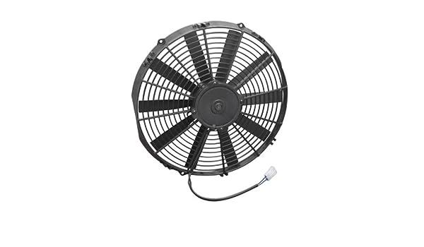 """Spal 30101509 14/"""" Straight Blade Low Profile Fan"""