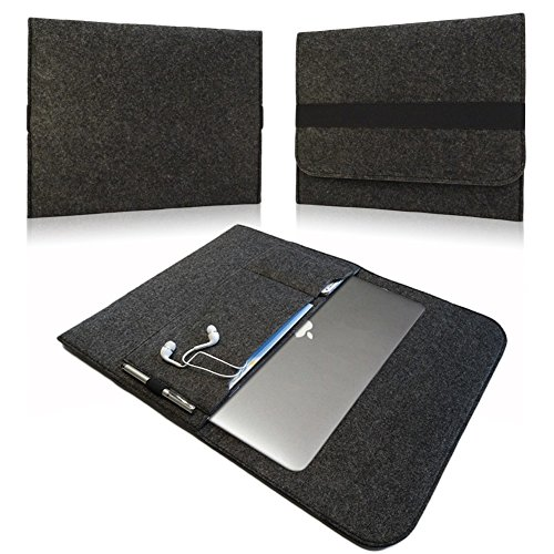 TrekStor SurfTab duo W3 W2 W1 Tasche Hülle Notebook Filz Cover Case Sleeve