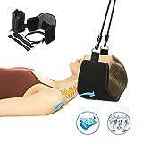 Hamac tête, Essort massage pour nuque portable, soulage la douleur à la tête et au cou 53 x 19 cm