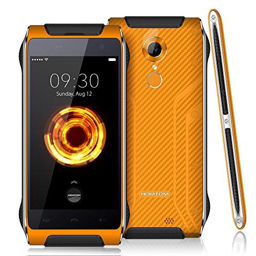 HOMTOM HT20 Pro Smartphone Duro Ragged IP68 Impermeabile Antipolvere Goccia-resistente Resistente Agli Urti 4G-LTE MTK6753 1.3GHz a 64-bit Octa Core 4,7 Pollici HD 1280 * 720P 3G + 32G