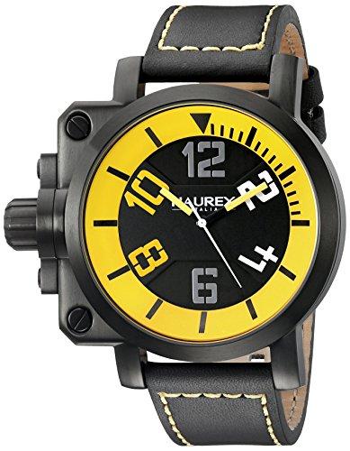 Haurex Italy hombre 6N508uyn pistola analógico pantalla Cuarzo Negro Reloj