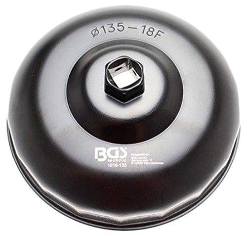 Bgs ölfilterkappe, 135 mm x 18 pans, 1019–135