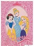 Bavaria Home Style Collection Princess Schneewittchen Cinderella Rapunzel Kinderteppich Teppich Kinderteppich Kinder Teppich Spielteppich darf in keinem Kinderzimmer fehlen 95 x 133 cm