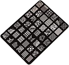 Demarkt Moda Imagen de placa de impresión estampación sellos manicura Nail Art decoración de uñas